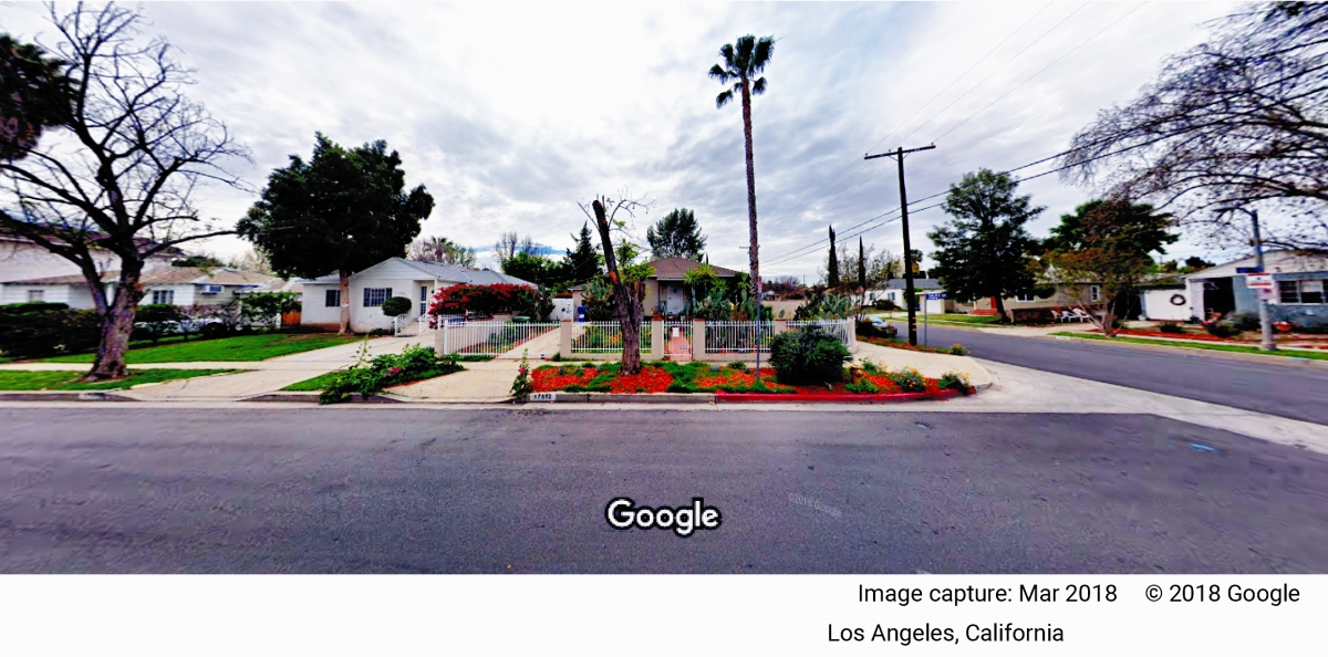 17513 Califa St - Google Maps A