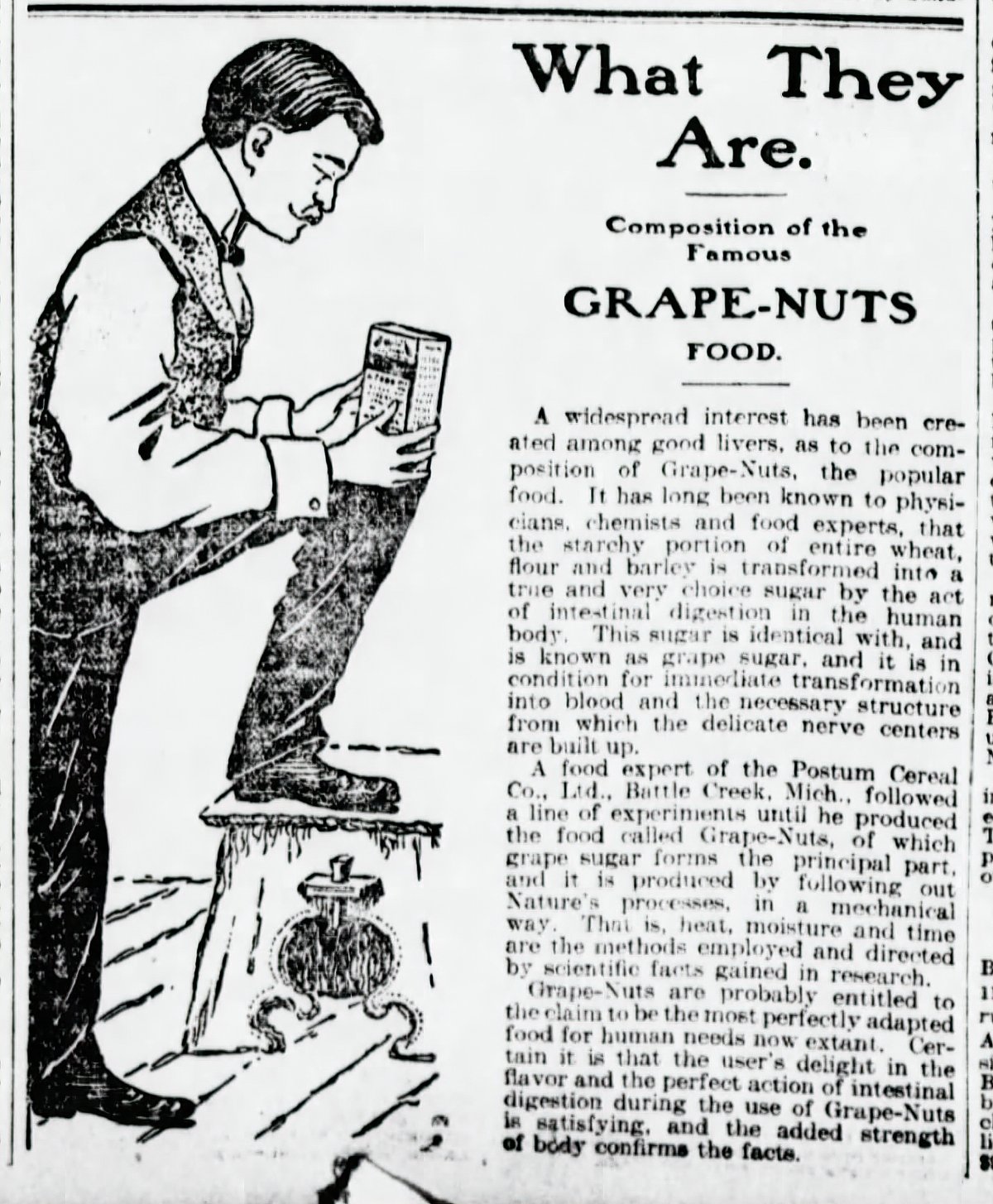 Grape Nuts aidsD